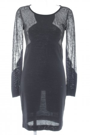 Stills Langarmkleid schwarz Elegant