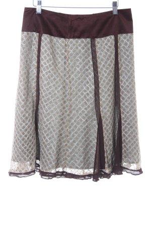 Stills Falda midi estampado con diseño abstracto look casual