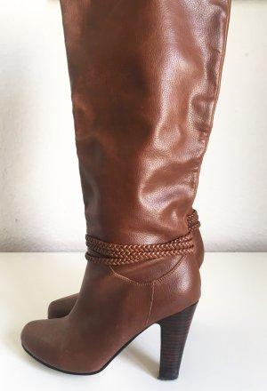 Stilvolle braune Stiefel von H&M