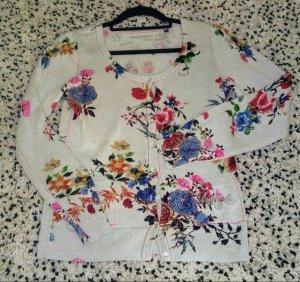 Arqueonautas Giacca in maglia multicolore Tessuto misto