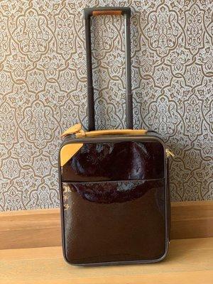 Louis Vuitton Valise brun foncé cuir