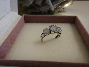 Stilvoller Trilogie- Ring in Silber 925 von italienische Desinger!!!!!