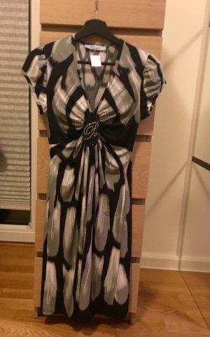 Stilvolles Kleid Blumarine , schwarz-weiß Muster