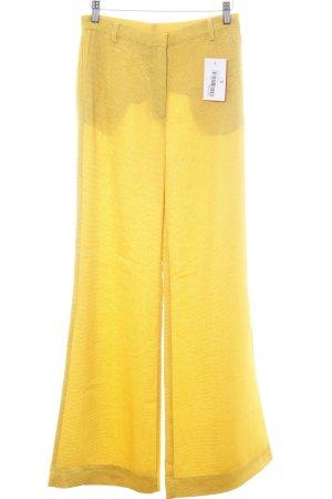 Stine Goya Stoffhose dunkelgelb Street-Fashion-Look