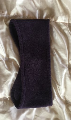 Stirnband aus Fleece in lila one size