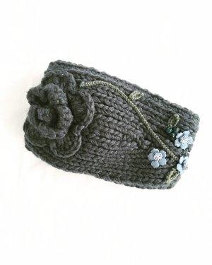 Vintage Beanie dark grey-anthracite