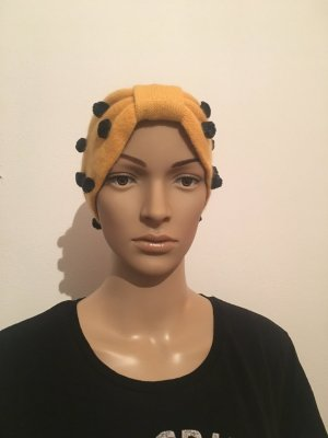 Earmuff gold orange-black