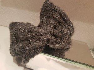 Stirnband in grau mit Pailetten