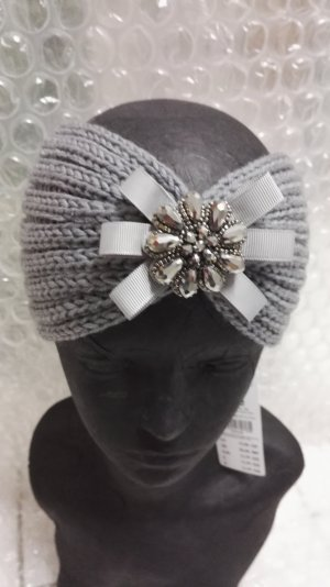 Cartoon Earmuff silver-colored-grey