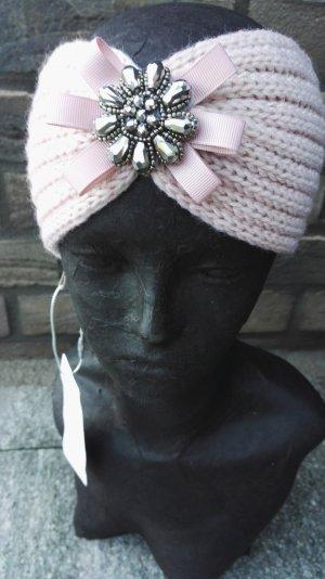 Stirnband mit Blume rose