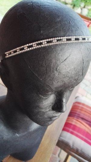 Accessorio per capelli nero-argento