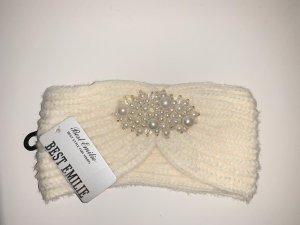 Stirnband mit Perlmutt Perlen neu