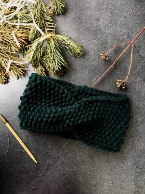 Earmuff dark green-forest green