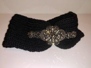 Stirnband schwarz mit Glitzer neu und ungetragen
