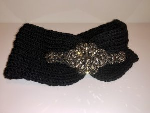 Earmuff black-silver-colored