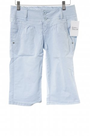 Stitch & Soul Caprihose babyblau Street-Fashion-Look