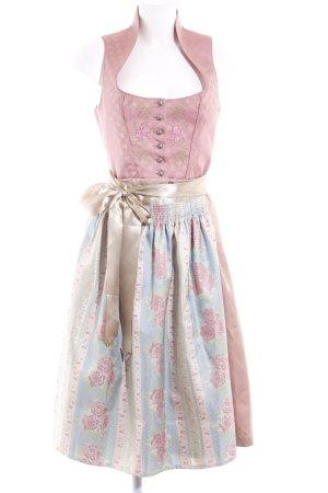 Stockerpoint A-Linien Kleid abstraktes Muster klassischer Stil