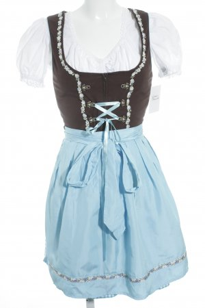 Stockerpoint Dirndl Blumenmuster Country-Look