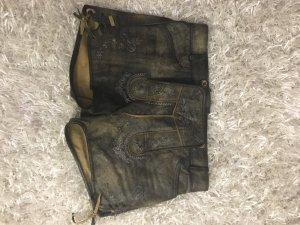 Stockerpoint Trachten-Lederhose im Used Look Größe 38