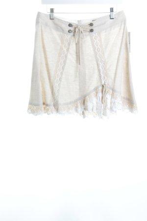 Stockerpoint Trachtenrock weiß-beige klassischer Stil