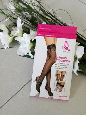 Stockings halterlose Strümpfe mit Satinschleife
