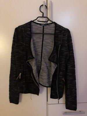 Sweat Blazer grey-black