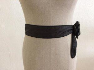 Noa Noa Fabric Belt black mixture fibre
