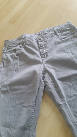 Boyfriend Trousers light grey