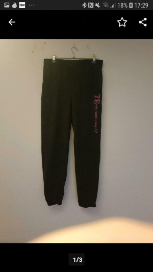 Stoff Jogginghose Farbe Grau Gr,42/L