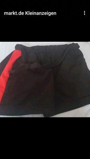 mister*lady Sport Shorts black-red