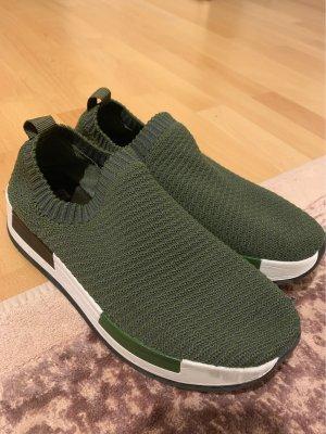 Bata Sneaker slip-on cachi-viola scuro