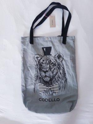Canvas Bag black-light grey