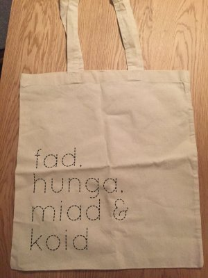 Canvas Bag white-oatmeal cotton