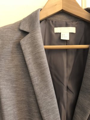 H&M Blazer sweat gris