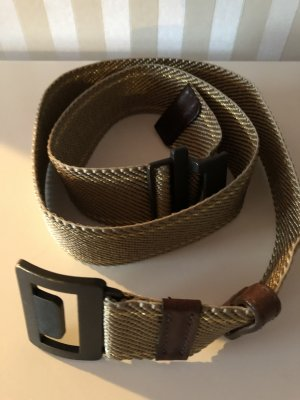 Fabric Belt bronze-colored-dark brown
