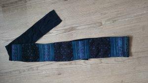 Cintura in tessuto multicolore Cotone