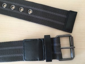 Esprit Fabric Belt taupe-grey brown