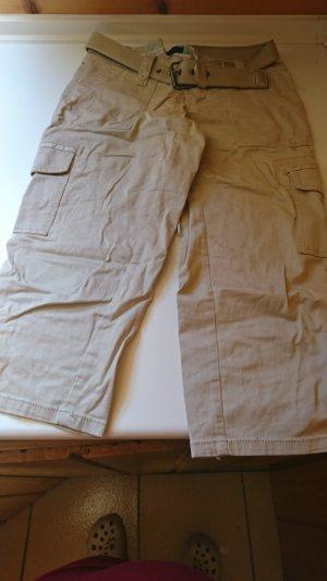 Amisu Pantalone jersey beige