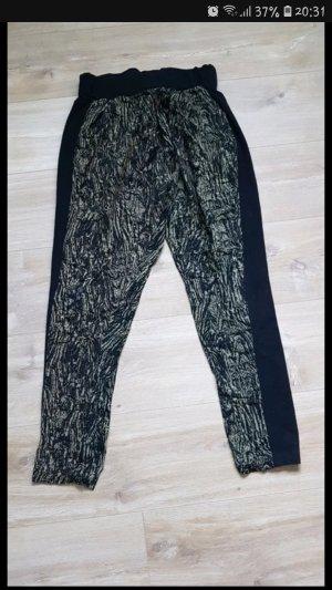 Pantalone nero-ruggine