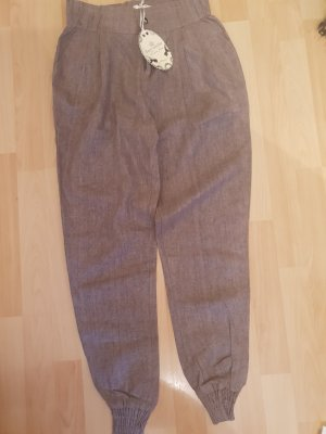 & other stories Jersey Pants grey brown