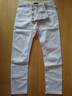Made in Italy Pantalon en jersey vieux rose