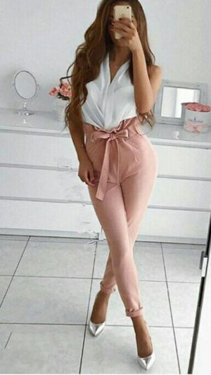 100% Fashion Broek roze