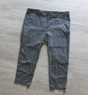 Atmosphere Pantalon 3/4 noir-blanc polyester