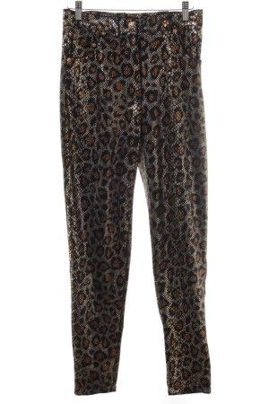 Stoffen broek abstract patroon extravagante stijl