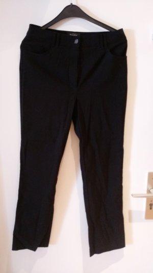 Bexleys Stoffen broek zwart