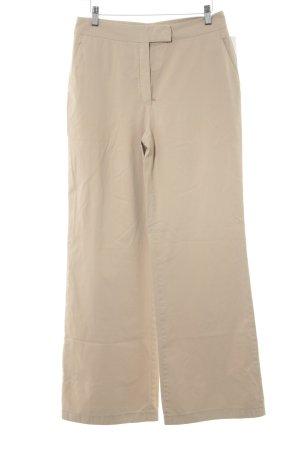 Stoffhose beige Casual-Look