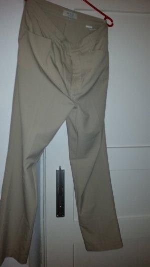 Avantgarde Pantalone a vita bassa bianco sporco-beige chiaro Tessuto misto