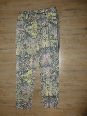 Anna Montana Jersey Pants green grey-yellow