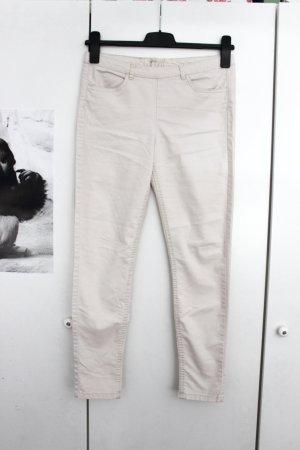 H&M Drainpipe Trousers multicolored cotton