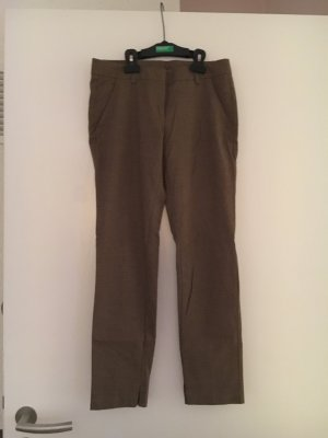 Stoffhose, Benetton, Karo, 34, XS, Top!